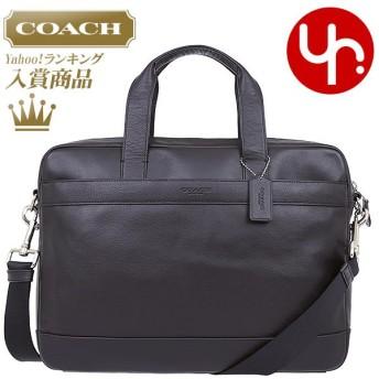 コーチ COACH バッグ ビジネスバッグ F54801 ブラック ハミルトン スムース レザー ブリーフケース アウトレット メンズ レディース