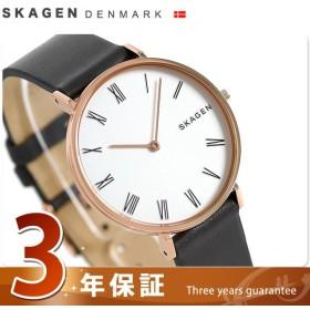 スカーゲン 腕時計 レディース 革ベルト SKW2674 SKAGEN 時計 新品