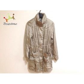 ミッシェルクラン MICHELKLEIN コート サイズ38 M レディース ベージュ 春・秋物/フード収納可              スペシャル特価 20190301