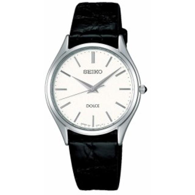 54b5024733 セイコー ドルチェ メンズ腕時計 革ベルト SACM171 国内正規品 取り寄せ ...