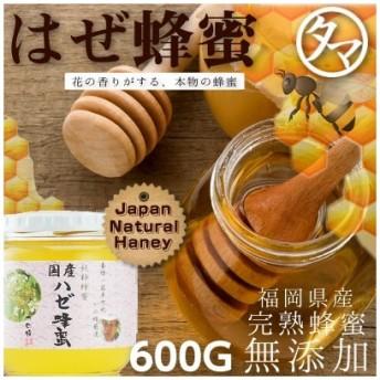 国産はぜ蜂蜜(はちみつ) 600G