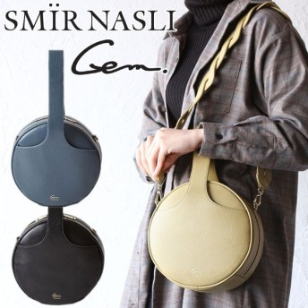 サミールナスリ セール 50%OFF バッグ ショルダーバッグ サークルバッグ 3way SMIR NASLI Gem Circle Bag 011212927 ジェム ハンドバッグ 正規品