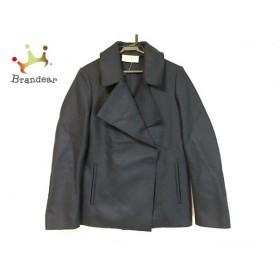 メゾンフラネウール MAISON FLANEUR コート サイズ38 M レディース 美品 ダークネイビー         スペシャル特価 20190305