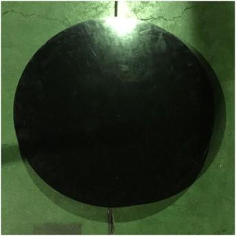 ターンテーブル黒 業務用 中古/送料別途見積 幅600×奥行600×高さ50