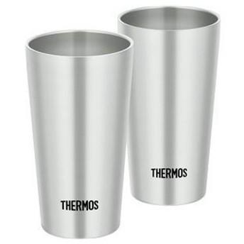ds-1953554 【THERMOS サーモス】 真空断熱タンブラー/カップ 【2個セット】 300ml ステンレス製 (ds1953554)