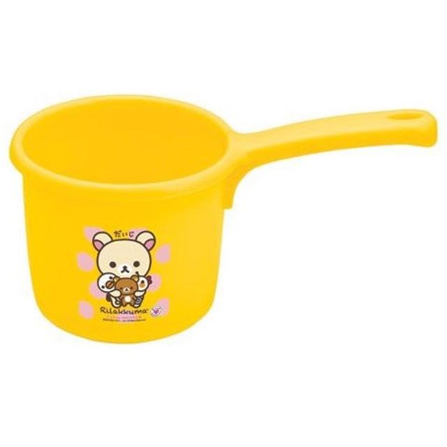 ■在庫限り・入荷なし■手おけ 子供用 リラックマ キャラクター ( 手桶 洗面器 湯桶 )