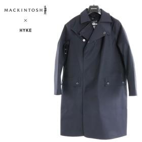 MACKINTOSH マッキントッシュ HYKE ハイク コラボモデル レディース MXH 018L 6152D フード付き ゴム引き シングルコート カラー3A02 237600