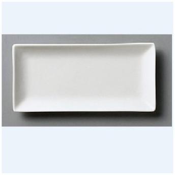 角皿 32cmワイドメタ(WH)/32.5×14×2.1cm/業務用/新品