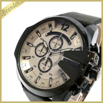 ディーゼル DIESEL メンズ 腕時計 メガチーフ クロノグラフ Mega Chief 52mm ベージュ×ブラウン DZ4422 [在庫品]