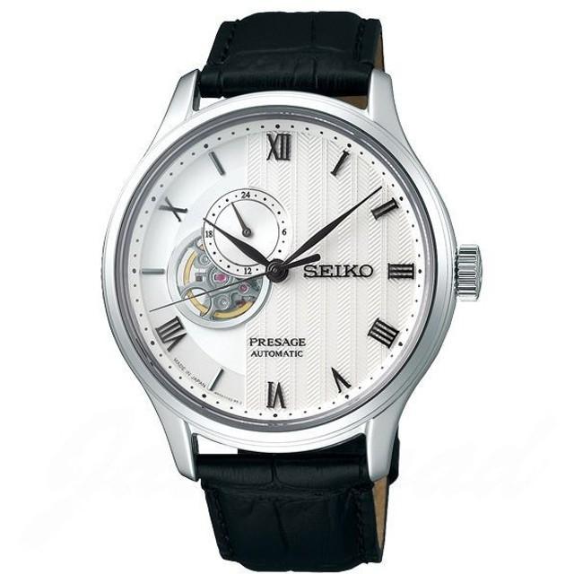 セイコー SEIKO プレザージュ メカニカル ベーシックライン オープンハート SARY095 新品 時計 メンズ