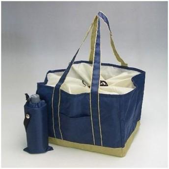 ボトルホルダー付レジカゴバッグ