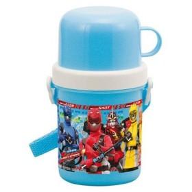 ■在庫限り・入荷なし■子供用水筒 特命戦隊ゴーバスターズ コップ付 300ml プラスチック製 キャラクター すいとう
