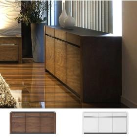 キャビネット サイドボード シンプルデザイン LUCIA 幅130cm ( 収納棚 リビング 棚 サイドチェスト リビング収納 収納 キャビネットボード )