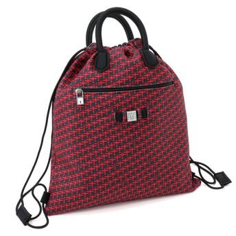 並行輸入品 SAVE MY BAG セーブマイバッグ CLOUD STAMPATA LYCRA リュックサック 巾着型 20300N