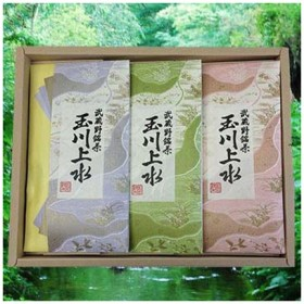鈴木園 SZK-636739 【のし・包装可】狭山茶「玉川上水」詰め合わせ100g×3(300g) (SZK636739)