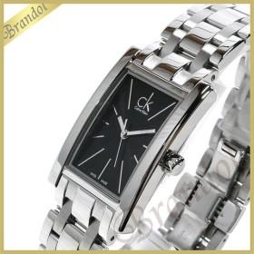 カルバンクライン Calvin Klein レディース 腕時計 リファイン ブラック×シルバー K4P231.41 [在庫品]