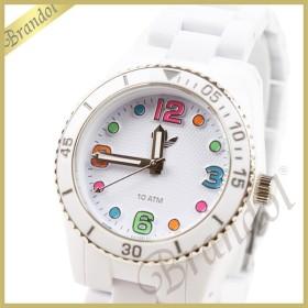 522b559522 アディダス adidas レディース腕時計 アディダスオリジナルス ブリスベン ミニ 33mm ホワイト×マルチカラー ADH2941