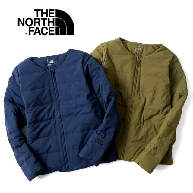 ザ ノースフェイス THE NORTH FACE ノーカラー ダウンカーディガン インナーダウン NDW91611 レディース