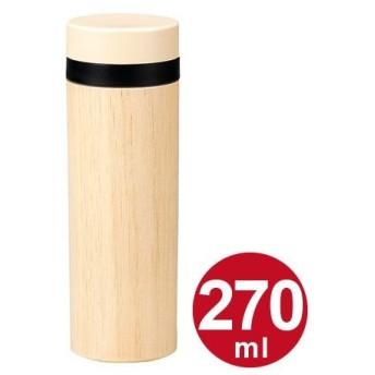 水筒 直飲みプラマグボトル HAKOYA ナチュラルウッド プラスチック製 270ml ( 軽量 マグボトル 家型 )