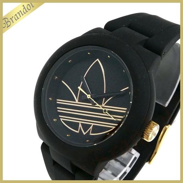 dfb879ba72 アディダス adidas メンズ・レディース 腕時計 アディダスオリジナルス ABERDEEN アバディーン 40mm ブラック ADH3013