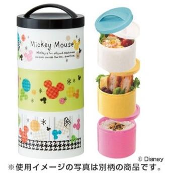■在庫限り・入荷なし■お弁当箱 ランチボックス ボトル型 3段 ミッキーマウス ジョイフル 480ml キャラクター