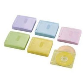 ds-1759682 (まとめ)エレコム Blu-ray・CD・DVD対応不織布ケース 2穴 CCD-NBWB240ASO【×5セット】 (ds1759682)