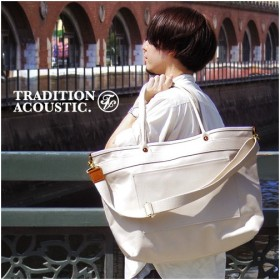 Tradition Acoustic HEAVYWEIGHT LINE 2way Tote Bag [Lサイズ]