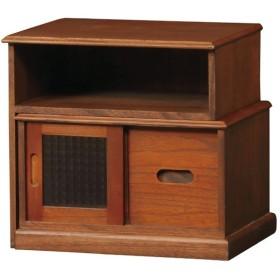 ■在庫限り・入荷なし■キャビネット スライド収納 和風 伸縮式 天然木 コワン 幅37.5cm