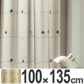 【ポイント最大17倍】カーテン 遮光カーテン スミノエ ミッキー ライン 100×135cm ( ディズニー ドレープカーテン ミッキーマウス )