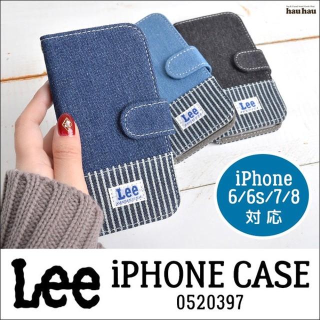 7fbb09575e スマホケース Lee スマホ デニム iphoneケース 手帳型 iPhone7 iphone6 iphone8 ヒッコリー アイフォン メンズ  レディース リー