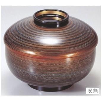 煮物椀 三笠煮物椀グレー金つむぎ SH塗 漆器/グループI