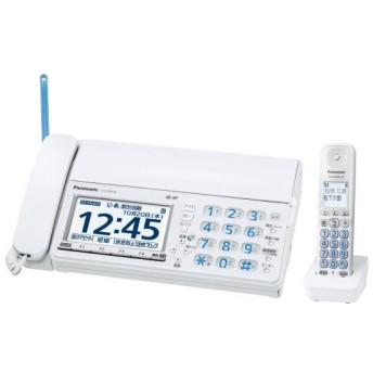 パナソニック デジタルコードレスFAX(子機1台付き) ホワイト KX-PZ618DLE [KXPZ618DLE]