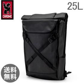クローム Chrome バックパック リュック 25L ブラーボ 2.0 BG-190 ブラックローム メンズ レディース 通勤 通学 ロールトップ バッグ【5%還元】