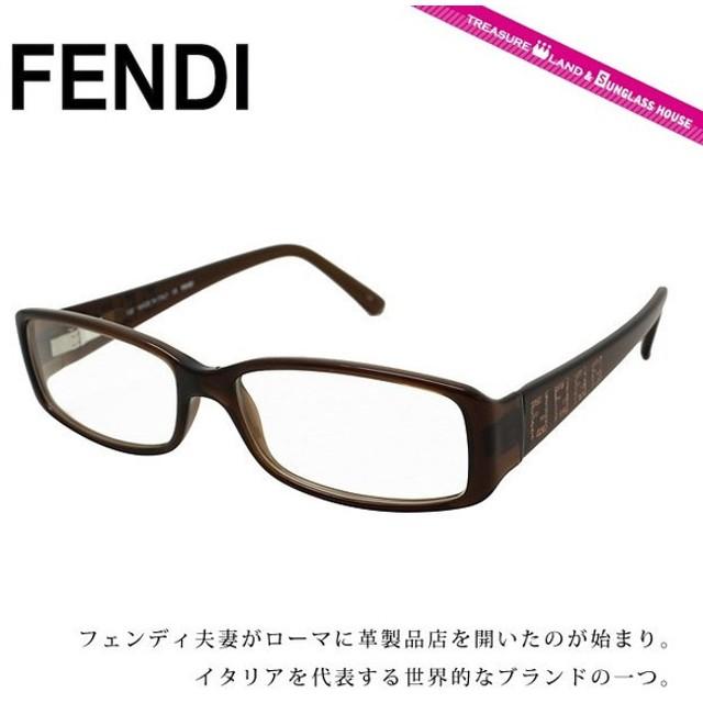 pretty nice a9462 973c8 フェンディ フレーム 伊達 度付き 度入り メガネ 眼鏡 FENDI893 ...