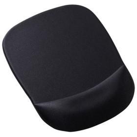 アウトレット  低反発リストレスト付きマウスパッド(ブラック) out-MPD-MU1NBK 返品・交換不可 ネコポス非対応