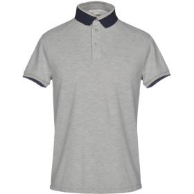 《期間限定セール開催中!》HENRY COTTON'S メンズ ポロシャツ グレー S 100% コットン