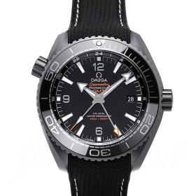 オメガ OMEGA シーマスター 600 プラネットオーシャン GMT コーアクシャル マスタークロノメーター ディープブラック 215.92.46.22.01.001 【新品】 時計 メンズ