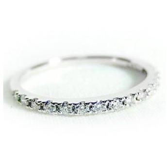 ds-1238433 ダイヤモンド リング ハーフエタニティ 0.2ct 11.5号 プラチナ Pt900 ハーフエタニティリング 指輪 (ds1238433)