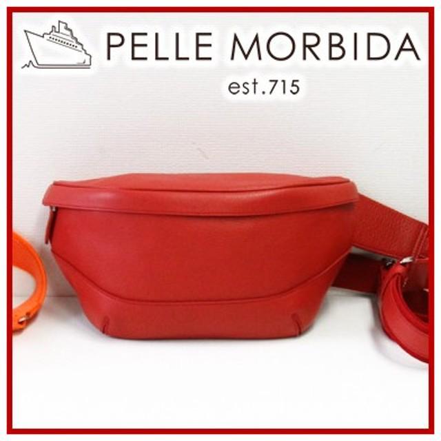 PELLE MORBIDA ペッレモルビダ Maiden Voyage メイデン ボヤージュ シュリンクレザー ボディバッグ PMO-MB057