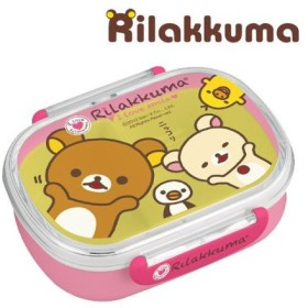 ■在庫限り・入荷なし■弁当箱 小判型 リラックマ 子供用 キャラクター