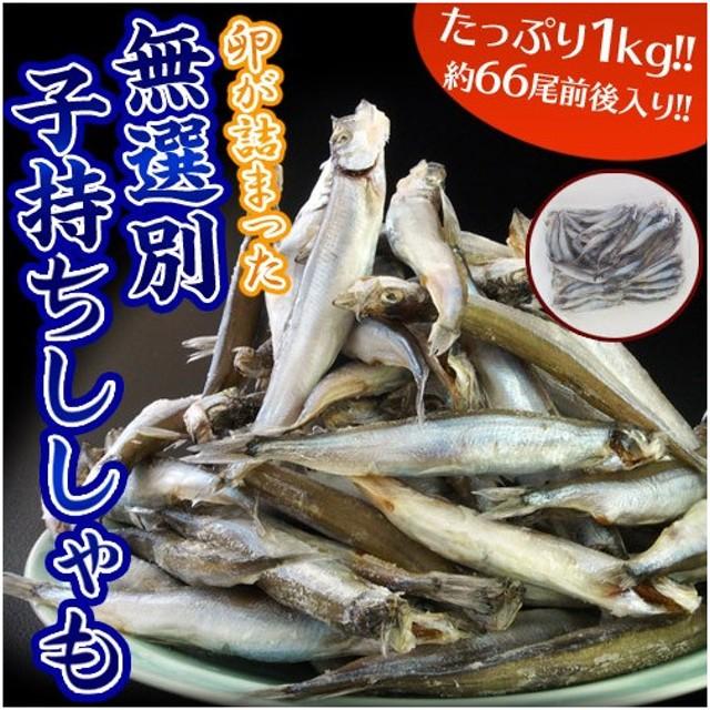 大ボリューム60尾以上!! 無選別『子持ちししゃも』 約1kg 冷凍 sea ☆