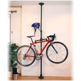■在庫限り・入荷なし■つっぱり自転車ラック レジャーラック ( 突っ張り バイクラック スタンド 室内 )