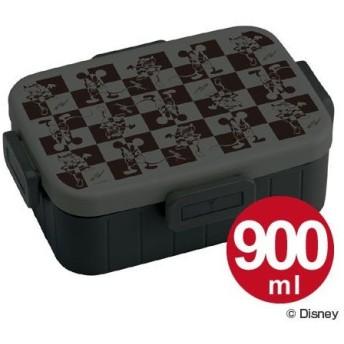 ■在庫限り・入荷なし■お弁当箱 4点ロックランチボックス 1段 ミッキーマウス モード 900ml