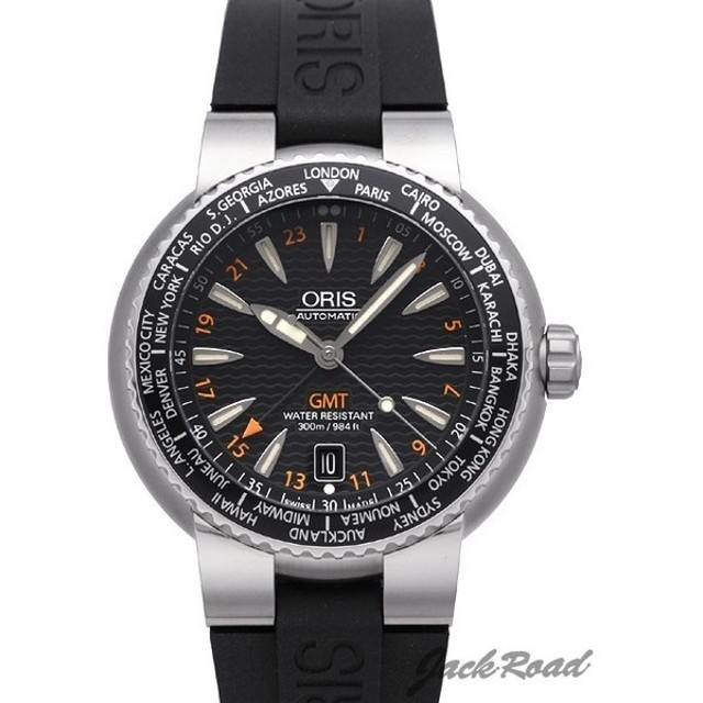 オリス ORIS ダイバーズ GMT デイト 668 7608 8454 【新品】 時計 メンズ