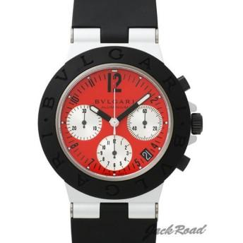 ブルガリ BVLGARI アルミニウム クロノグラフ イタリア限定 AC38C9STAVD 【新品】 時計 メンズ