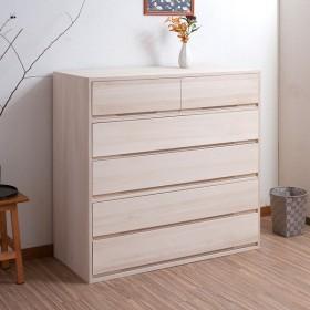 桐タンス 5段 桐収納 日本製 白木仕上げ 幅100cm ( 桐たんす 桐 箪笥 タンス 着物収納 着物 収納 和たんす 和室 )