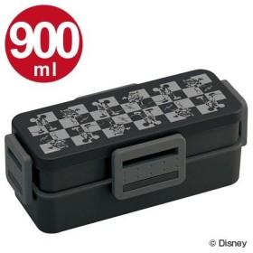 ■在庫限り・入荷なし■お弁当箱 4点ロック式 ランチボックス ミッキーマウス モード 2段 900ml 男性用