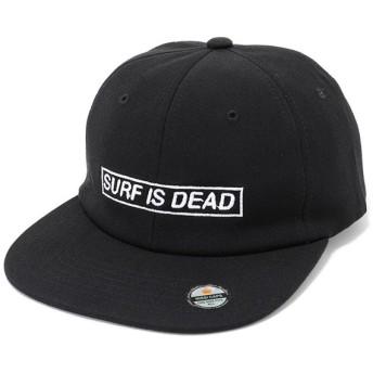 SURF IS DEAD サーフイズデッド D171TR-02 ベースボールキャップ 帽子 カラーBlack