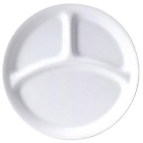 26cm丸形三つ仕切り皿 仕切りシリーズ /業務用/グループY