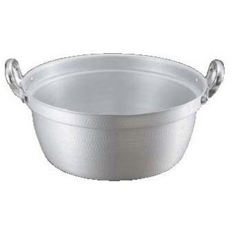 料理鍋(目盛付) 打出 キング アルマイト 24cm/業務用/新品